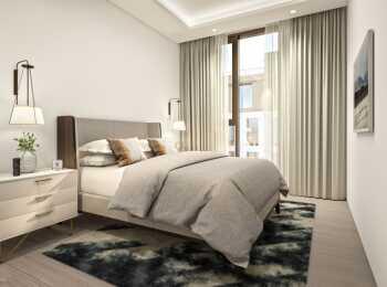 Пример отделки спальни